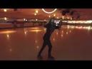 Hula Hooping at the Skating Rink