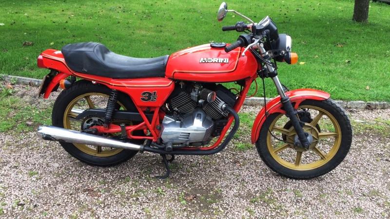 Мотоцикл Moto Morini 350 Sport, 1984 года