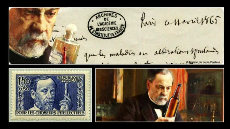 Le Destin 62 - Louis Pasteur 1822-1895 Un scientifique français, chimiste et phy