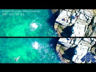Descubre Puerto Ángel desde el aire, Dron en Puerto Ángel y playas cercanas. Oaxaca, México..mp4