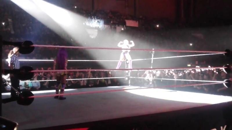 Entrée de Sasha Banks, Dana Brooke, Nia Jax et Alicia Fox WWELille