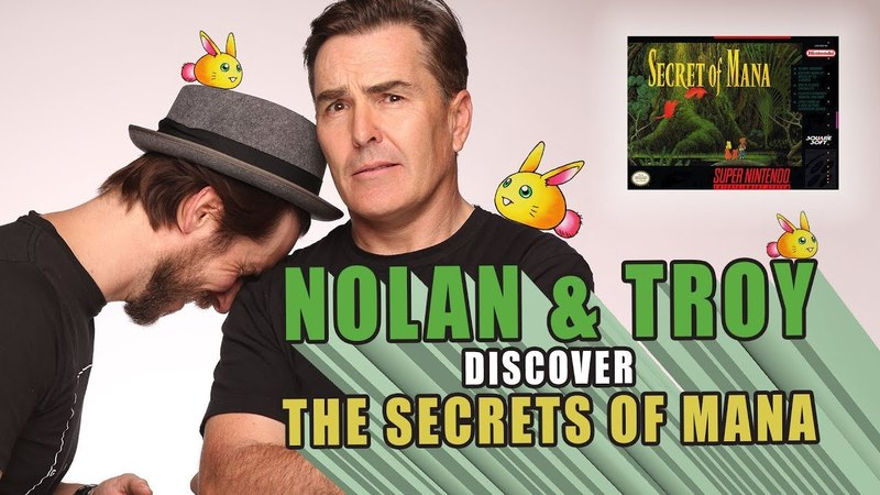 RETRO REPLAY - Nolan North Troy Baker Discover the Secrets of Mana