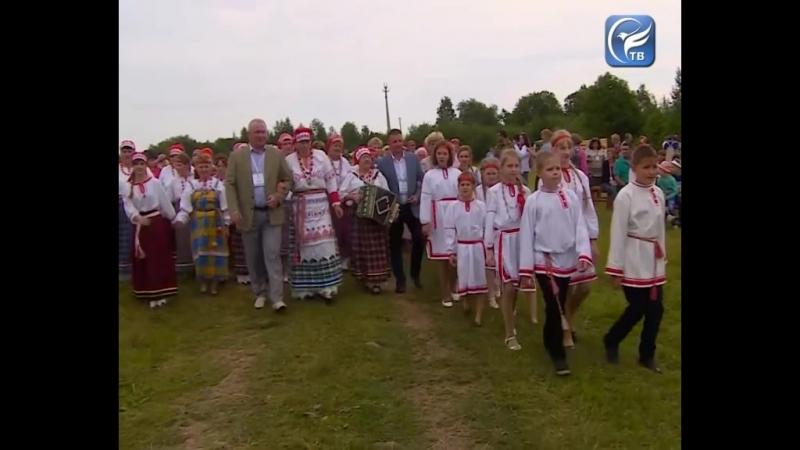 Вепсский праздник Древо жизни прошел в Бабаевском районе