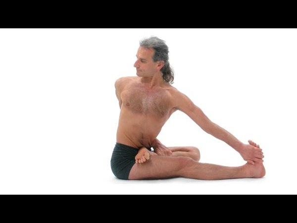 Simon Borg-Olivier teaching the essence of vinyasa yoga