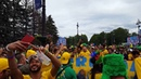 2018 FIFA World Cup / Brazil vs Costa Rica / Saint Petersburg / Brazilian fans