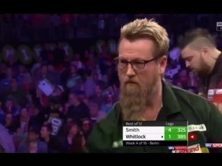 Michael Smith vs Simon Whitlock (2018 Premier League Darts / Week 4)