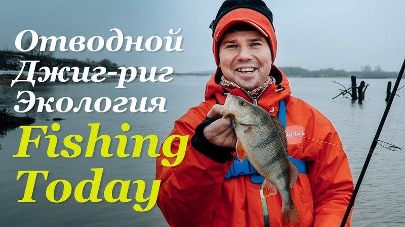 Отводной. Джиг-риг. Экология на МР. Розыгрыш Zetrix Ambition-X - Fishing Today