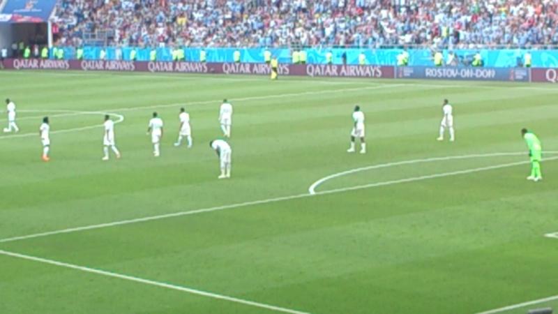 Uruguay – Saudi Arabia, corner and amazing goal from Luis Suarez Rostov Arena, Russia World Cup 2018.