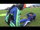 Мой первый прыжок с парашютом 4000 м