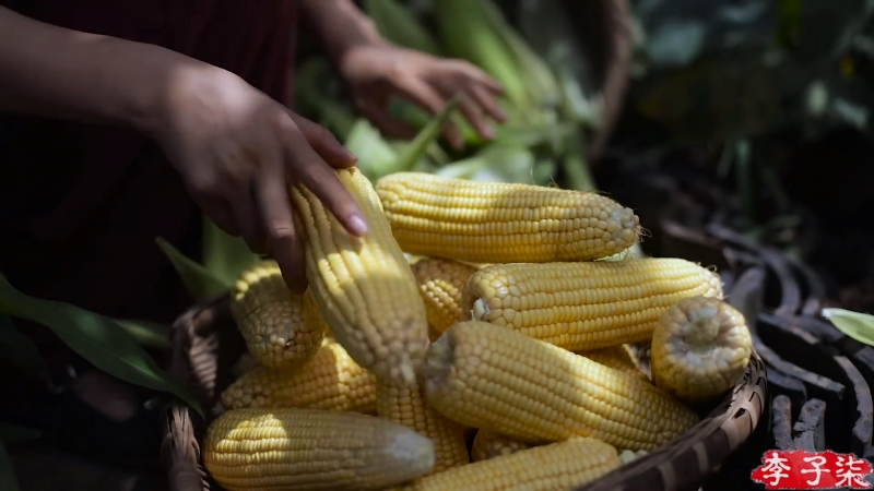 Ли ЦзыЦи - ДЕВУШКА С ХАРАКТЕРОМ! Кукуруза ''ЮйШуШу'' (нефритовое сорго), или даже ''ЮйМи'' (мозоль)... Кукурузные (маисовые) леп