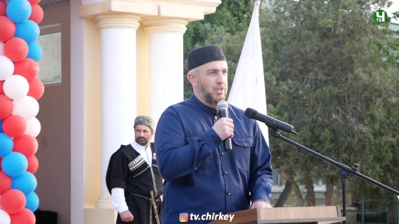 Выступление Хидирбекова Абдулла Хаджи на городском ифтаре г Кизилюрт 19 05 2018