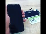 #iPhoneX замена дисплея