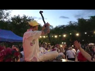 Появление Сергея Михалка на концерте в Зеленке! (Одесса, 17.08.2018)