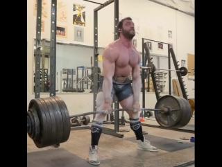 Бен Поллак - тяга 340 кг на 5