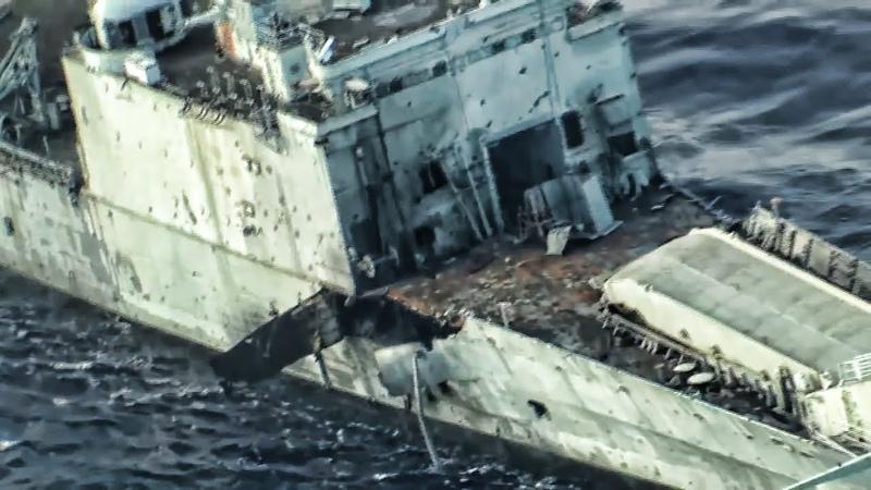 Missiles And Torpedo Sink Ship SINKEX RIMPAC 2018