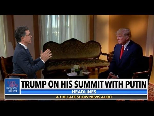 Stephen Interviews Sean Hannity's Interview Of Donald Trump