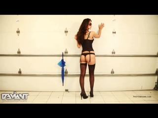 Photodromm Jennifer Sexy Babe Stockings Legs Ass Strip Tease Tits Nude Секси Девушка в Чулках Голая Модель Попка Сиськи Анал Ню