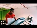 Тренировка Аршака в Бельгии