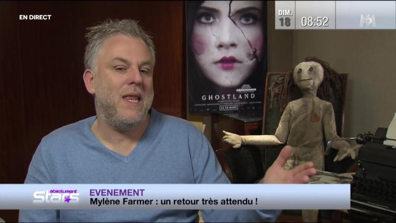 Mylene Farmer - Милен Фармер - Mylène Farmer un retour très attendu - Absolument Stars - 18.03.2018