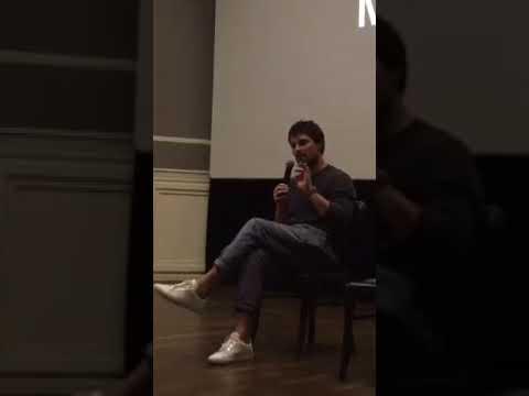 Данила Козловский, показ фильма «Тренер» в кинотеатре Англетер