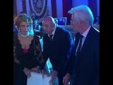 Ричард Гир и Софи Лорен на презентации премии Браво