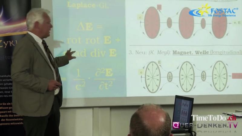 Konstantin Meyl - Skalarwellen in der Medizin