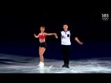 180225 'Red Flavor' @ 2018 PyeongChang Winter Olympics Gala (Kim Kyueun & Kam Alex Kang Chan)