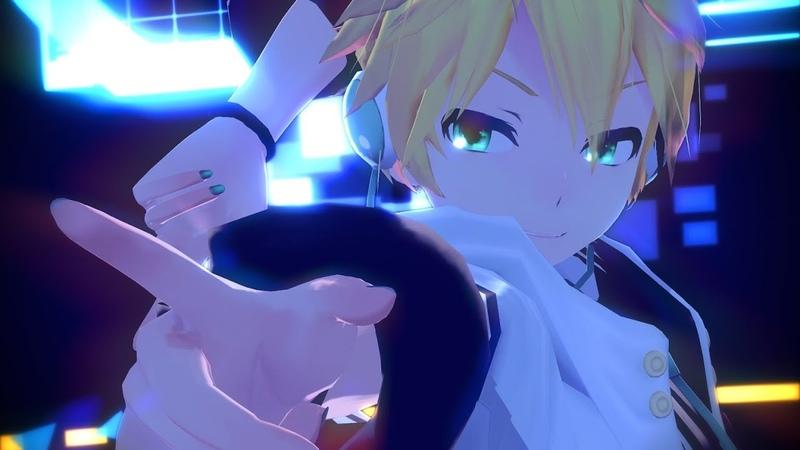 【MMD】サイバーサンダーサイダーCyber Thunder Cider(鏡音レンKagamine Len)