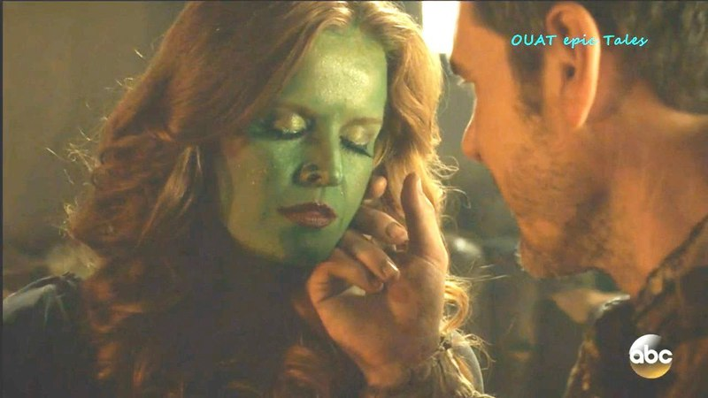 Once Upon A Time 7x17 Zelena' Blind Guy Romantic Moment -Rumple Necklace Season 7 Episode 17