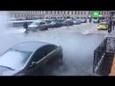 Разлив кипятка на канале Грибоедова