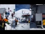 Лыжный подъёмник взбесился