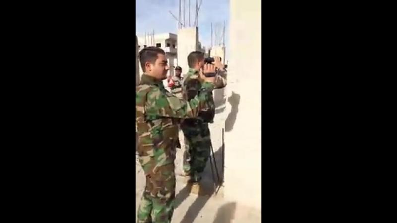 Лива Аль-Кудс в Дахият Аль-Асад в Восточной Гуте