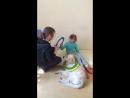 Занятие с собачкой Элли канистерапия золотистый ретривер