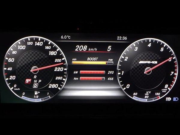 2017 Mercedes-AMG E 43 4MATIC T-Modell 401 HP 0-100 kmh, 0-100 mph 0-200 kmh Acceleration
