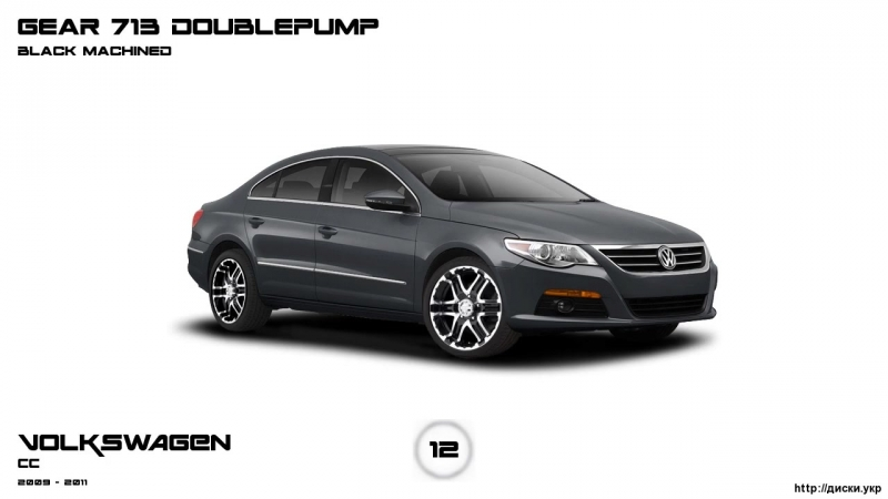Диски Volkswagen CC 2009 - 2011