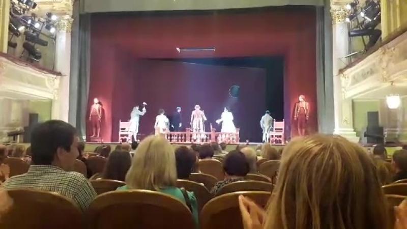 Мизантроп в театре Комиссаржевской по пьесе Жана-Батиста Мольера.