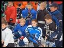 2010-12-18. Совместная тренировка Новичков 2004 и основного состава ХК Нефтехимик. Было здорово!