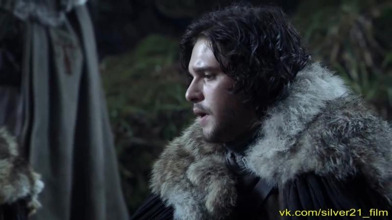 Игра престолов / Старки находят волков / ИграПрестолов / Game Of Thrones / фантастика 1 сезон 1 серия / Джон Сноу Король Севера