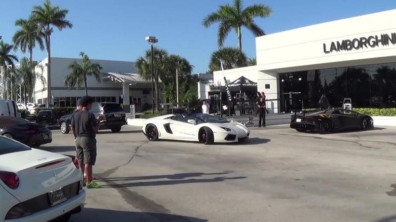 Lamborghini Miami Getting Ready for ACTION Aventador Huracan Murcielago Gallardo