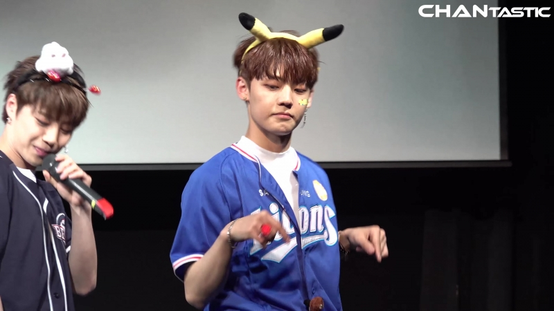 FANCAM | 28.04.18 | Chan - Ride With Me @ UNB 5th Fansign Jayla Art Hall