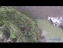 Overflowing Glory Hole Spillway at Lake Berryessa Drone Report - Lake Berryessa