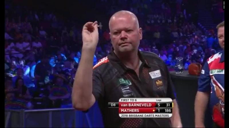 2018 Brisbane Darts Masters Round 1 van Barneveld vs Mathers