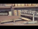 Твердый воск + Ретуширующий маркер Ritocco di una cornice con finitura a foglia argento con Hartwachs e Holzmarker