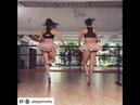 Танец балерин-близняшек
