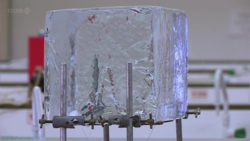 BBC Тайная жизнь льда Научно познавательный исследования гляциология 2011