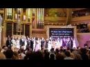 Финал концерта в Московском Международном Доме музыки