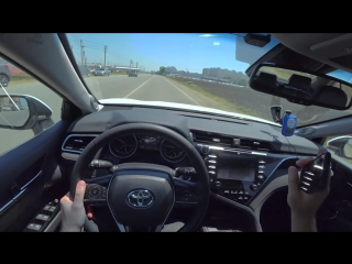Toyota Camry 2018 2.5 (XV70) разгон 0-100 + LAUNCH Новая Камри 2018 2.5 AT Acceleration Racelogic