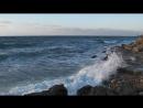 Море штормит. Камыши, за волнорезом [160]