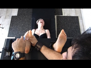 FrenchTickling - The Policewoman Cant Stand To Be Tickled