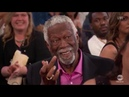 Bill Russell Flips A Bird To Charles Barkley LIVE At NBA Awards